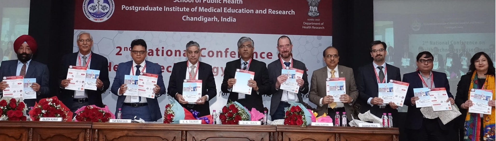 Safety Engineered Syringes OutCome release 2nd National Conference on HTA Chandigarh